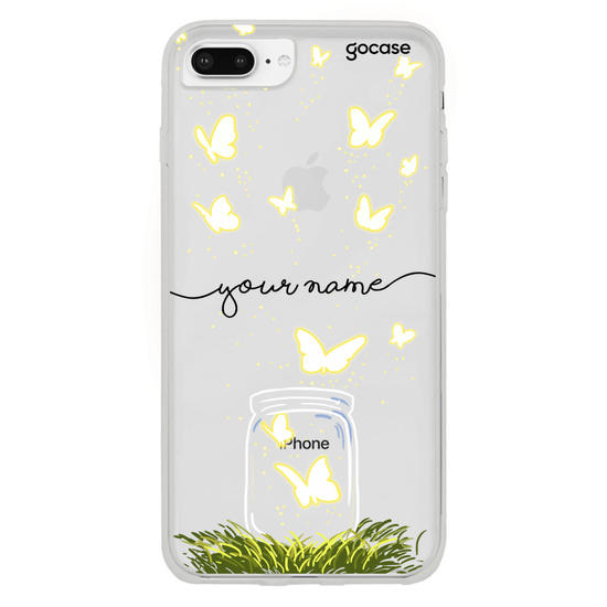 Butterfly Jar Handwritten Phone Case