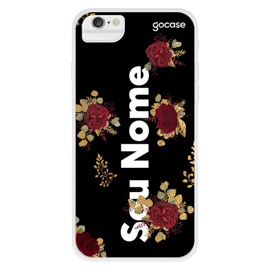 Capinha para celular Buquê de Rosas