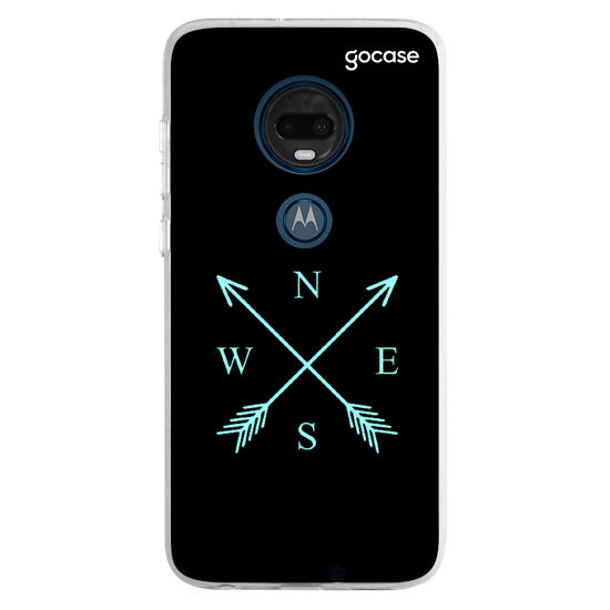 Capinha para celular Bússola Minimalista