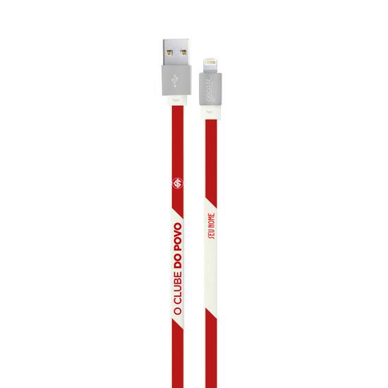 Cabo Personalizado iPhone Gocase Lightning (Certificado Apple) - Internacional - Colorado Personalizado