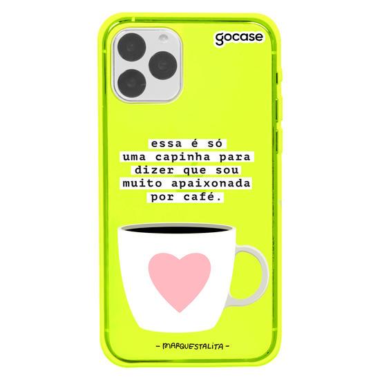 Capinha para celular Café Apx