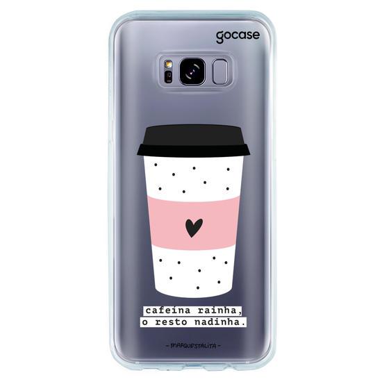 Capinha para celular Cafeína Rainha