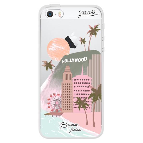 Capinha para celular Minha Califórnia by Bruna Vieira