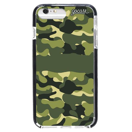 Capinha para celular Camuflagem Militar Personalizada