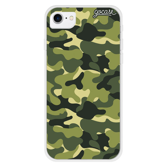 Capinha para celular Camuflagem Militar