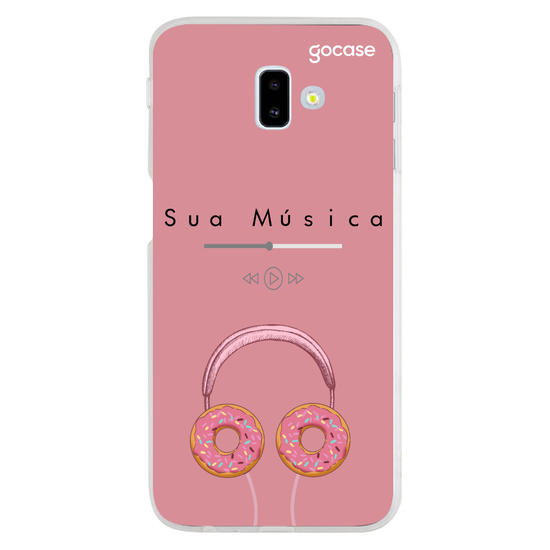 Capinha para celular Candy songs