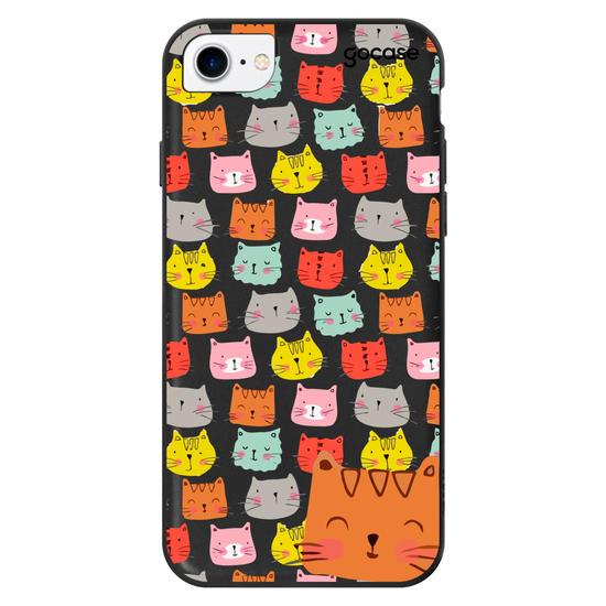 Capinha para celular Cats Faces