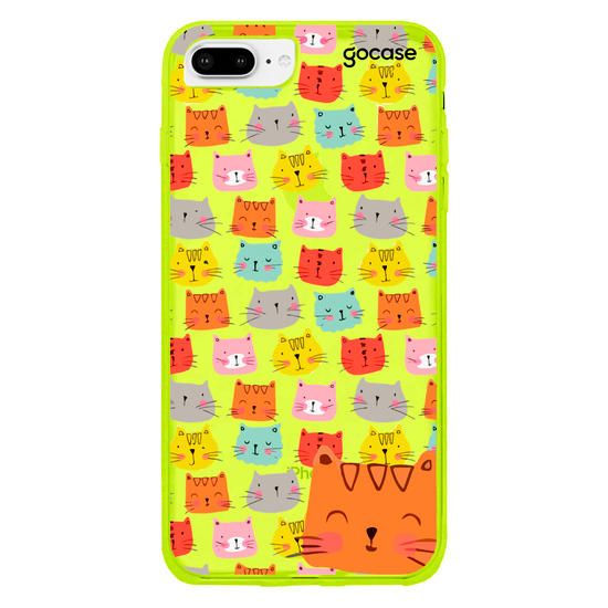 Capinha para celular Cats Faces