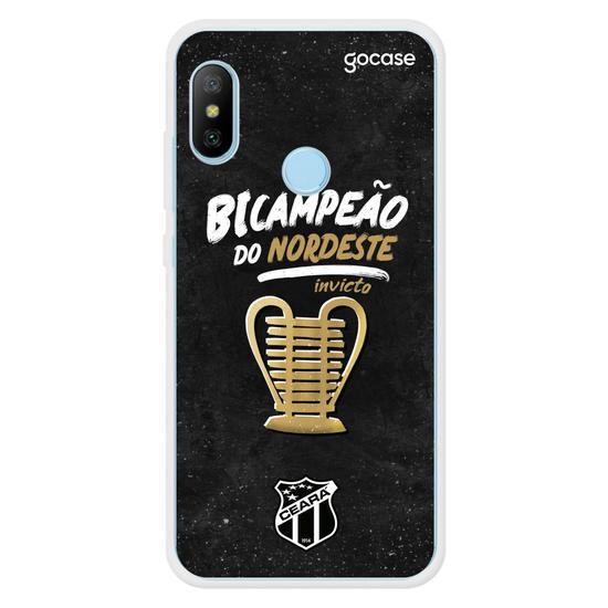 Capinha para celular Ceará - Bicampeão do Nordeste
