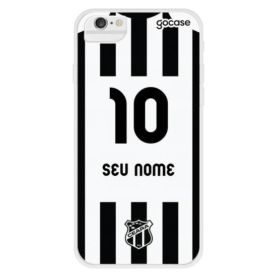 Capinha para celular Ceará - Uniforme 1 2020 Personalizado