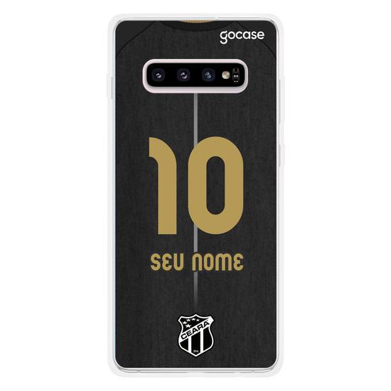 Capinha para celular Ceará - Uniforme Nação Alvinegra 2020 Personalizado