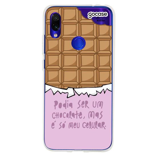 Capinha para celular Celular de Chocolate
