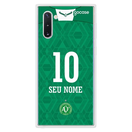 Capinha para celular Chapecoense - Uniforme 1 2020 - Personalizado