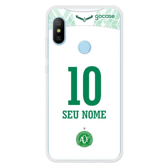 Capinha para celular Chapecoense - Uniforme 2 2020 - Personalizado