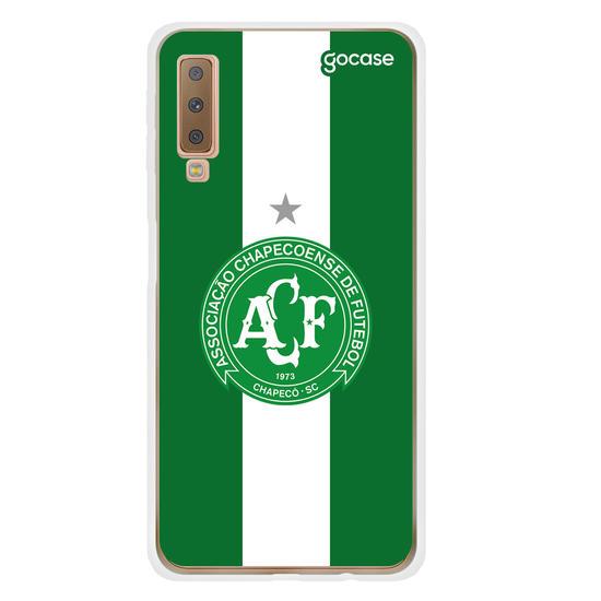 Capinha para celular Chapecoense - Verde e Branco