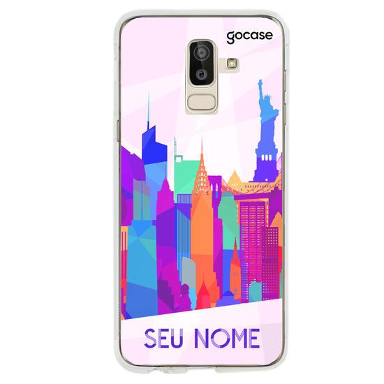 Capinha para celular Cidades Coloridas