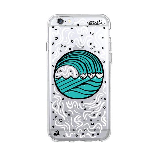 Circle Waves Phone Case