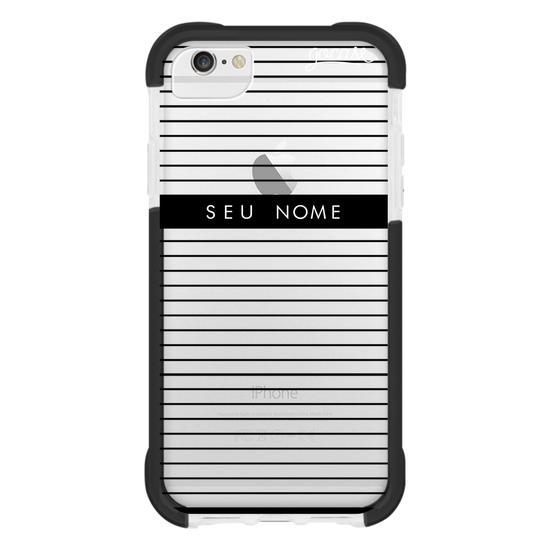 Capinha para celular Classic Stripes Customizável