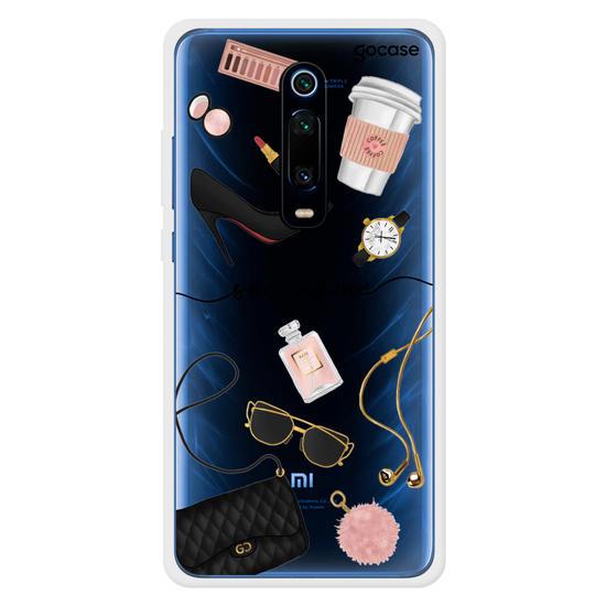 Capinha para celular Moda Elegante Manuscrita