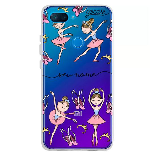 Capinha para celular Coisas de Bailarina Manuscrita