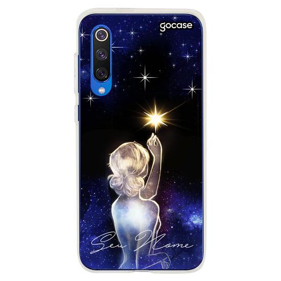 Capinha para celular Colecionadora de Estrelas Personalizável