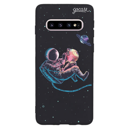 Capinha para celular Color Black - Viajante Astral
