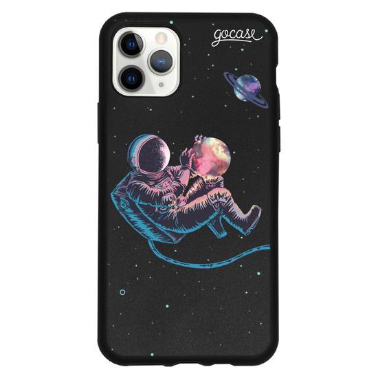 Capinha para celular Color Black - Viajante Astral