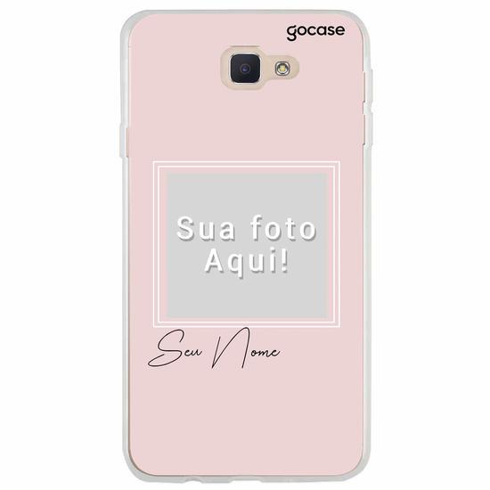 Capinha para celular Color Picture Pink