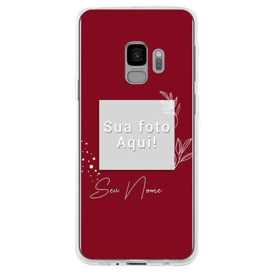 Capinha para celular Color Picture Red