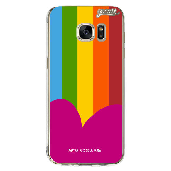 Colorful Stripes Phone Case