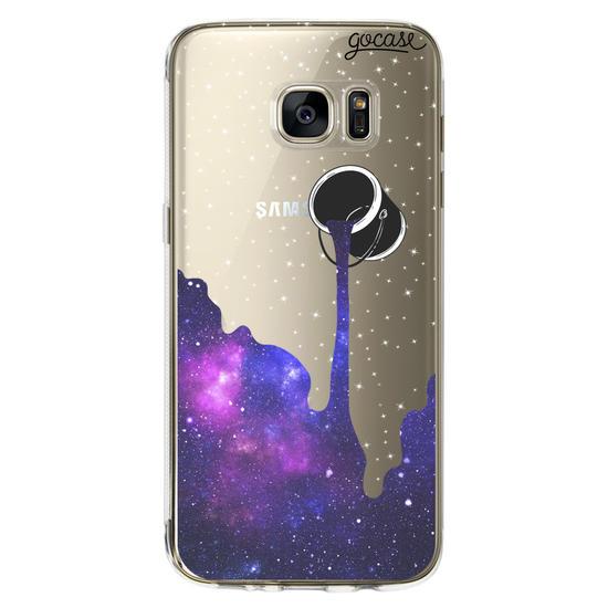 Capinha para celular Colorindo o Universo Clean