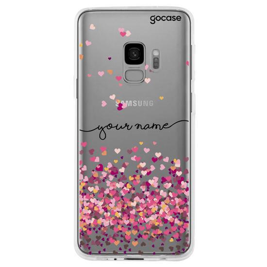 Hearts Handwritten Phone Case