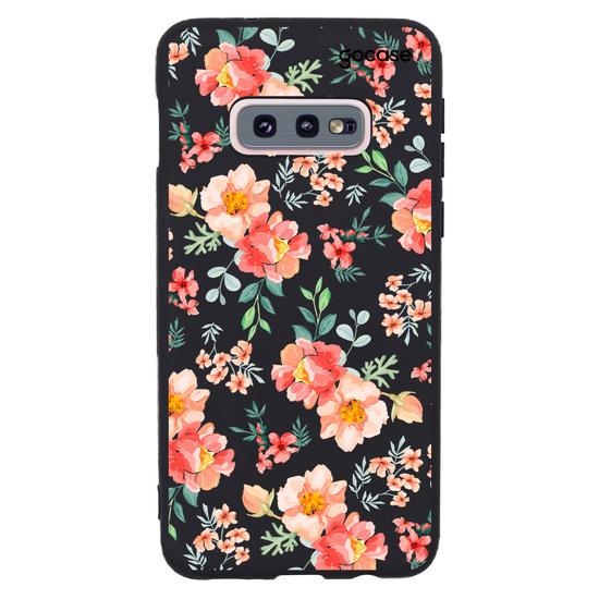 Capinha para celular Flores Coral