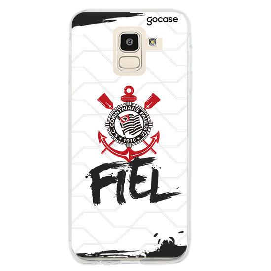 Capinha para celular Corinthians - Fiel