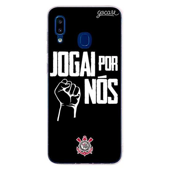 Capinha para celular Corinthians - Jogai por Nós