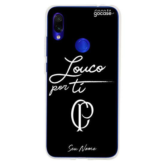Capinha para celular Corinthians - Louco por Ti