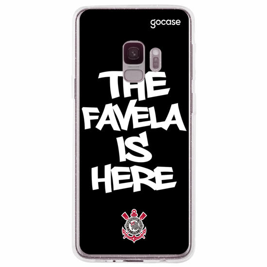 Capinha para celular Corinthians - The Favela is Here