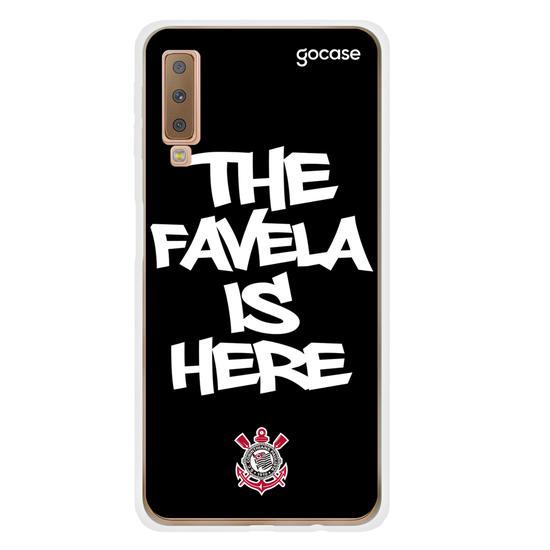 Capinha para celular Corinthians - The Favela is Here