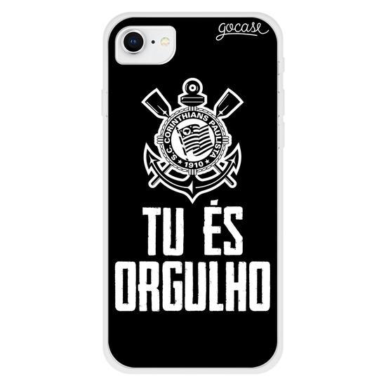 Capinha para celular Corinthians - Tu és Orgulho (Black)