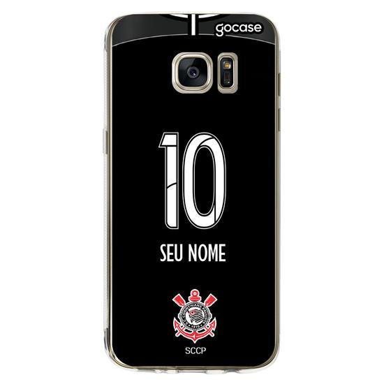 Capinha para celular Corinthians - Uniforme 2 2019 Costas
