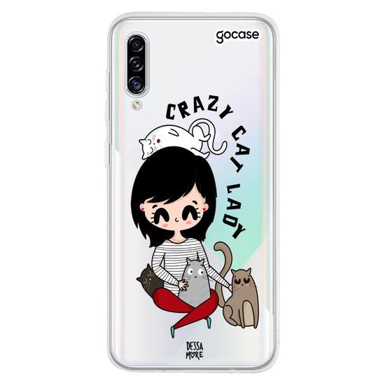 Capinha para celular Crazy Cat
