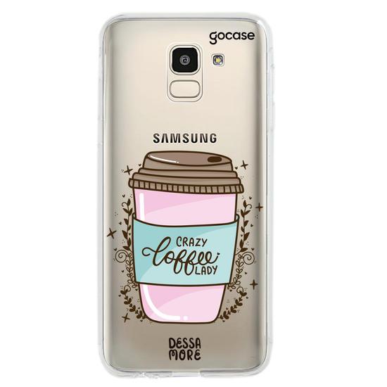 Capinha para celular Crazy Coffee