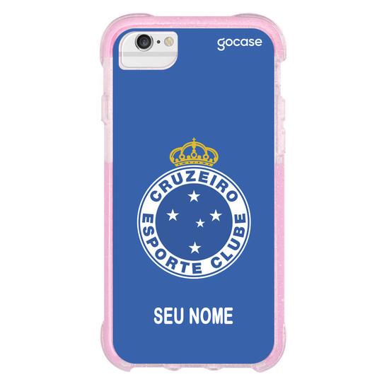 Capinha para celular Cruzeiro - Escudo Azul
