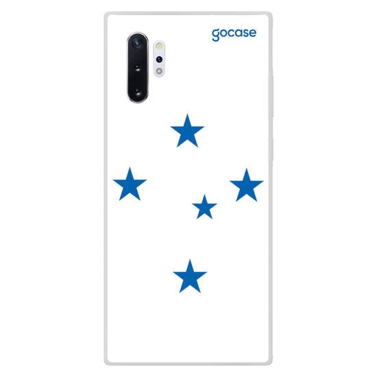 Capinha para celular Cruzeiro - Escudo Branco