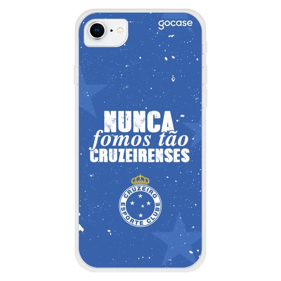 Capinha para celular Cruzeiro - Nunca Fomos Tão Cruzeirenses
