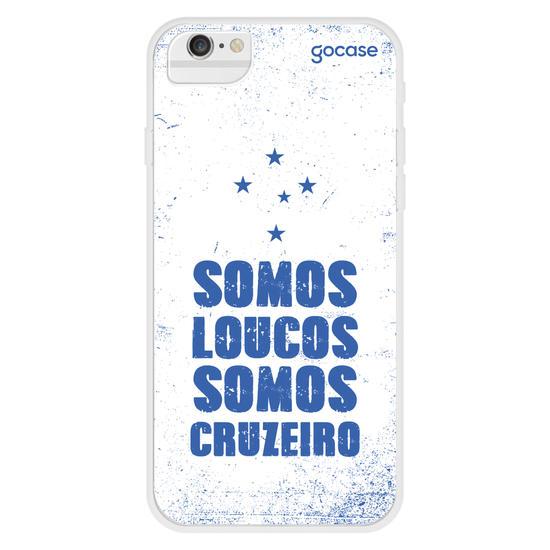 Capinha para celular Cruzeiro - Somos Loucos