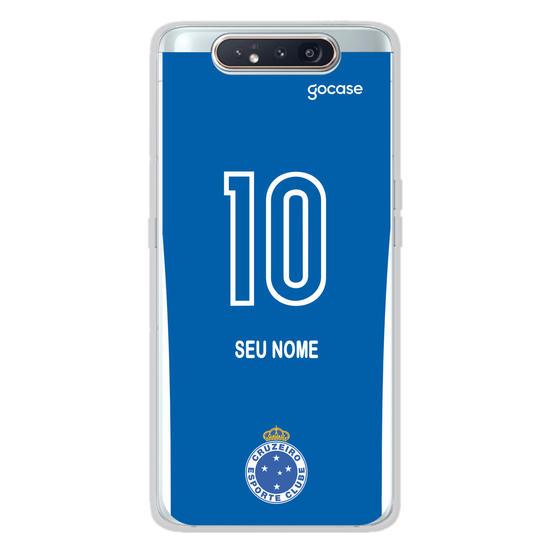 Capinha para celular Cruzeiro - Uniforme 1 2020 Costas