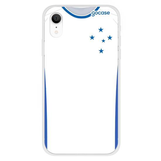 Capinha para celular Cruzeiro - Uniforme 2 2020 Frente
