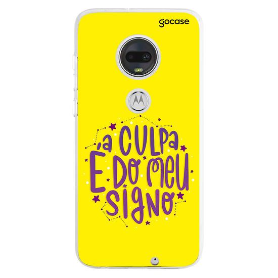 Capinha para celular Culpa do Signo