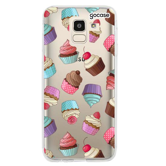 Capinha para celular Cupcakes